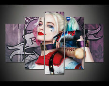 Modern Abstract Oil Painting Wall Decor Art Huge - Suicide Squad harley quinn
