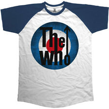 THE WHO Vintage Target OFFICIAL T-SHIRT Raglan All Sizes Logo Quadrophenia