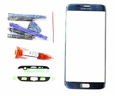 Coral Blue front glass lens replacement LCD Digitizer repair Fit  Galaxy S7 EDGE