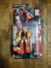 Transformers Generations Titans Return Autobot Wheelie Loose Complete w/ Pkging