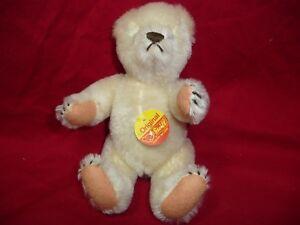 """Steiff Bear 6"""" Bear Stuffed Animal Fully Jointed"""