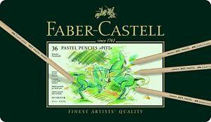 Faber-Castell Pitt Pastel Pencils 60 Pencils  **NEW FACTORY SEALED NO RESERVE**