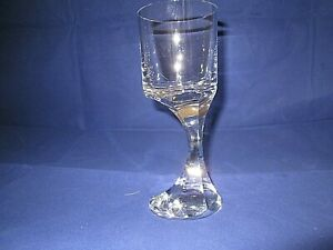 "Vintage Baccarat Crystal Narcisse 7.3"" Tall Wine Glass -"
