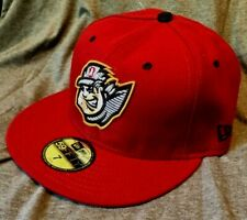 ALTOONA CURVE MiLB NEW ERA 59FIFTY FITTED ON FIELD MAROON HAT/CAP SZ 7 NWT