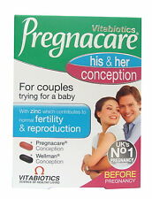 Vitabiotics Pregnacare Conception His and Hers Tablets 60 Capsules