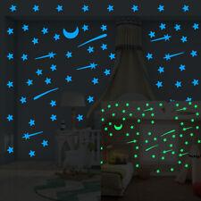 Luminous Wall Stickers Glow in the Dark Decal Home Decor Kids Room Art DIY Decor