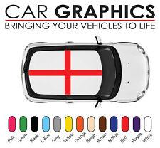 MINI COOPER AUTO grafica George Cross Bandiera Adesivi Decalcomanie in vinile mn37