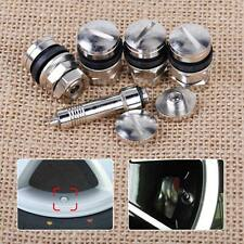 4x Car Auto Truck Hidden Stealth Flush Mount Wheel Tire Valve Stem Tube Cap Set