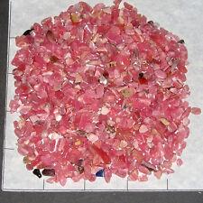 RHODOCHROSITE 'A+' 4-10mm tumbled 2 lb bulk stones bright pink SAVE 20%