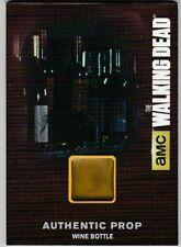 Cryptozoic The Walking Dead Season 4 Pt 1 Authentic Prop Wine Bottle M21