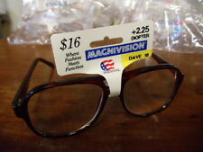 NEW Men's clear Glasses diopter +2.75 Strength MEGNAVISION dave 14