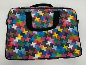 Paperchase Colourful Laptop Bag USED Good Condition (Y2)(L)