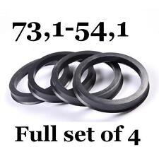 Spigot Rings 73.1mm - 54.1mm 73,1- 54,1 / Hub Centric Rings FULL SET OF 4 FOUR