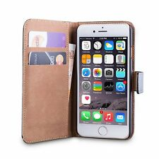 iPhone 6 And 6s Genuine Leather Case Wallet Cover With Screen Protector