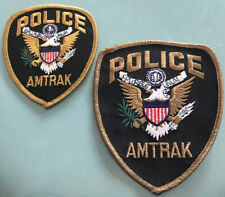 Amtrak Police Lot Of 2 Unused New From The 80's