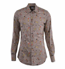 Beige Herren-Freizeithemden & -Shirts Hemd-Stil