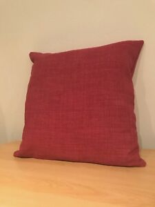 """NEW 16"""" TEXTURED PINK FABRIC CUSHION COVER"""