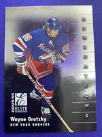 1997-98 Donruss Elite Generations #143 Wayne Gretzky New York Rangers