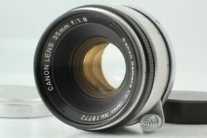 [MINT] Canon 35mm f/1.8 Leica Screw Mount LTM L39 MF Lens From JAPAN