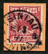 Kiautschou V 47 d  PA-Briefstück  Tsintau China a