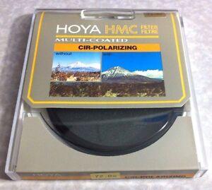 Genuine Hoya 72mm Circular Polarizing CPL Lens Filter 72 mm HMC Multi-coated CIR