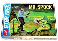 AMT Star Trek TOS MR. SPOCK Alien Planet Diorama Plastic Model Kit NIB e168