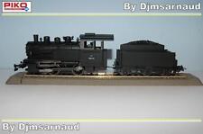 Locomotive À Vapeur 020 avec Tender Livrée Noir EP III de la SNCF PIKO SAI 1112