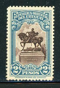 URUGUAY MH Selections: Scott #386 2P Equestrian Artigas WATERLOW CV$16+