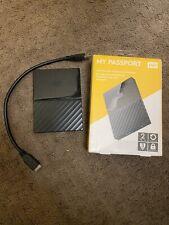 Western Digital WDBYFT0020BBK-WESN 2TB My Passport  Portable External Hard Drive