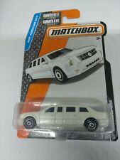 2015 MATCHBOX 1/64 SCALE WHITE CADILLAC ONE PRESIDENTIAL LIMO MBX ADVENTURE CITY