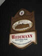 Welcome Aboard Geo Wiedemann beer Brewing Co Newport Ky TOC River Boat sign NICE