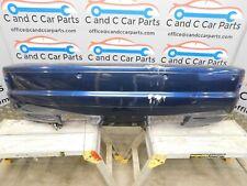 BMW 3 Series E46 M3 Coupe Mystic Blue Complete Rear Bumper 22/8