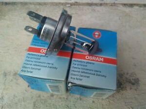 2 Ampoule Osram 12 volt R2 P45t