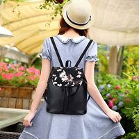 Women's Casual Backpack Rucksack Faux Leather Travel Shoulder School bag Handbag
