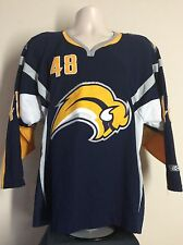 CCM Buffalo Sabres Daniel Briere Jersey Blue S Slug Logo NHL Hockey