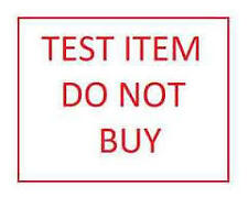 Test item do not buy- BIN bo