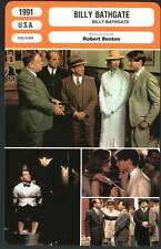 BILLY BATHGATE - Hoffman,Kidman,Benton (Fiche Cinéma) 1991