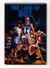 "BRIAN BOSWORTH / LAND OF BOZ 2""x3"" COSTACOS POSTER FRIDGE MAGNET seahawks rare"