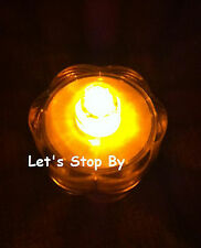 24 Amber SUBMERSIBLE Decoration LED Floralyte Tea Light