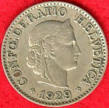 SWITZERLAND - 10 RAPPEN - 1929