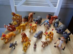 THE LION KING LION GUARD FIGURES LOT OF 20 MIXED