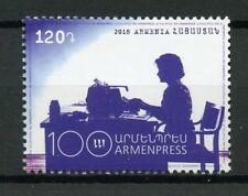 Armenia 2018 MNH Armenpress Telegraph Agency 1v Set Media News Stamps