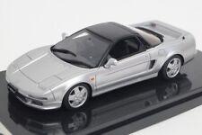 17B18-07 onemodel 1:43 Honda NSX-NA1 Silverstone Metallic model cars