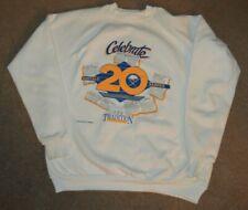 Vtg Buffalo Sabres 1989-90 20th Anniversary Crewneck Sweatshirt XL Retro NHL