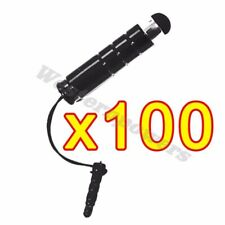 100x Black Universal Stylus Touch Screen Pen For iPod iPad 2 3 iPhone Samsung