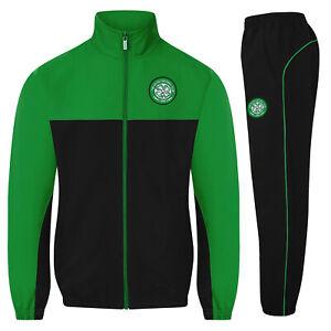 Celtic FC Boys Tracksuit Jacket & Pants Set Kids OFFICIAL Football Gift