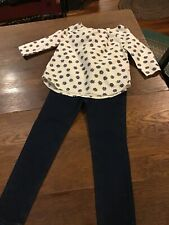 Crewcuts Girls Top And Gymboree Jeggings...size 5