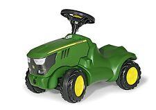 Rolly Toys John Deere 6150R Mini Trac - children's foot to floor green tractor