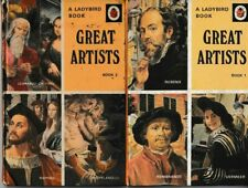 Ladybird Books: Series 701, Great Artists (books 1 and 2)