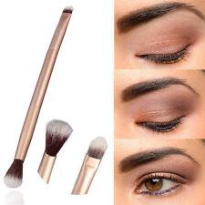 New Professional Makeup Eye Powder Foundation Eyeshadow Double-Ended Brush
